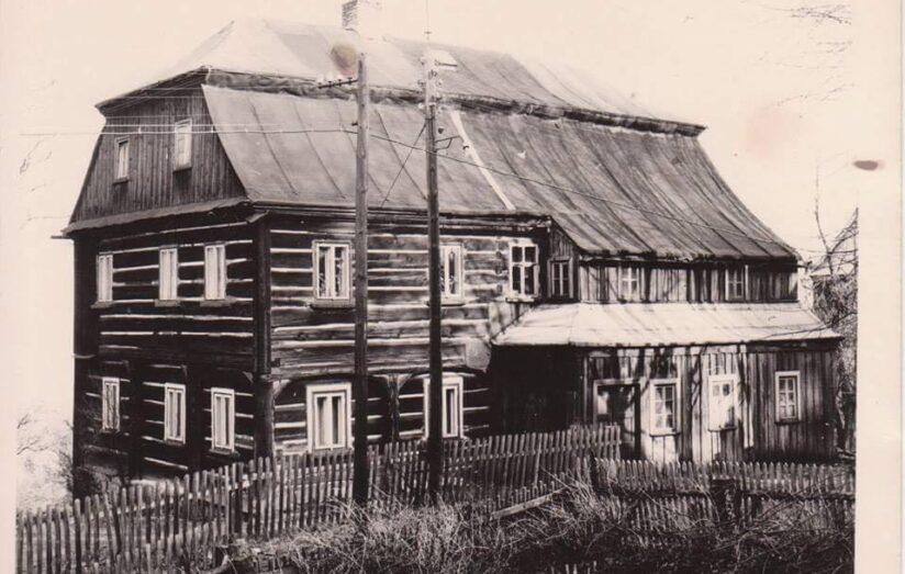 SUPŠS původní budova, r. 1856